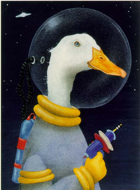 Will Bullas - SPACE CADET -  LIMITED EDITION PRINT Published by the Greenwich Workshop