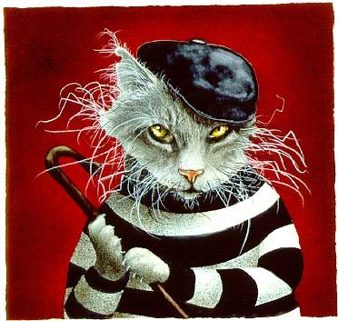 Will Bullas - the cat burglar... -  LIMITED EDITION PRINT Published by the Greenwich Workshop
