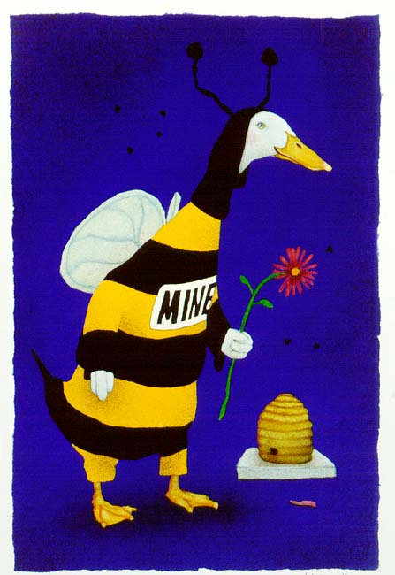 Will Bullas - PLEASE BEE MINE -  LIMITED EDITION PRINT Published by the Greenwich Workshop