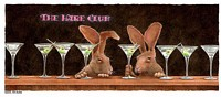the hare club...<br> LIMITED EDITION CANVAS