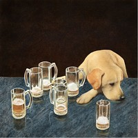 what´s that in dog beers?<br> LIMITED EDITION CANVAS