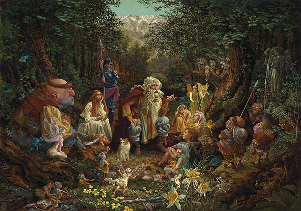 James C. Christensen - ONCE UPON A TIME -  LIMITED EDITION PRINT Published by the Greenwich Workshop