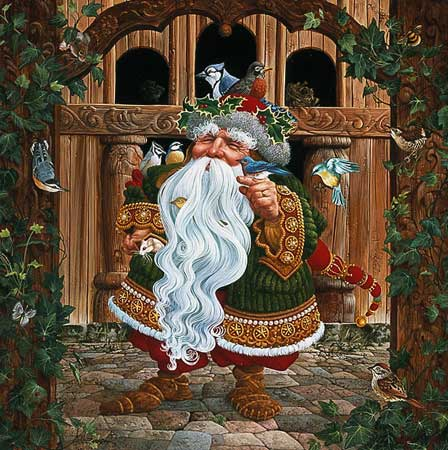James C. Christensen - SANTA´S OTHER HELPERS -  LIMITED EDITION PRINT Published by the Greenwich Workshop