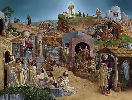 James C. Christensen - PARABLES (REMARQUE) -  LIMITED EDITION PRINT Published by the Greenwich Workshop