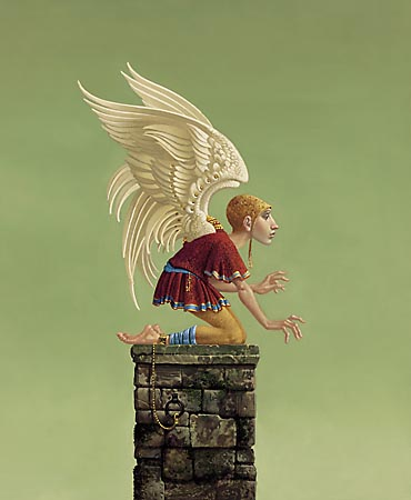 James C. Christensen - ICARUS BOUND -  LIMITED EDITION PRINT Published by the Greenwich Workshop
