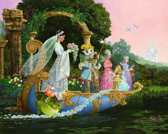 James C. Christensen - The Bride -  LIMITED EDITION PRINT Published by the Greenwich Workshop