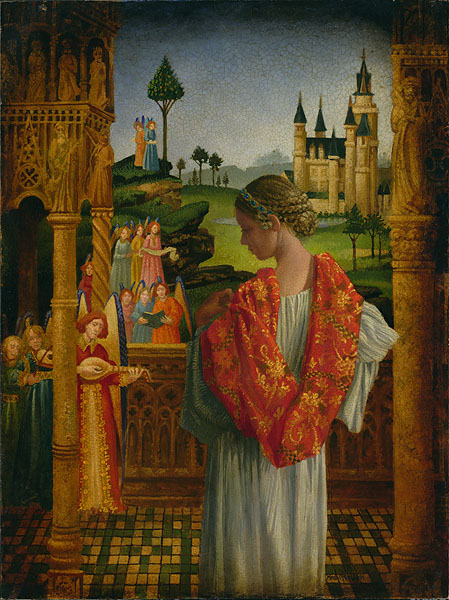 James C. Christensen - Music of Heaven -  LIMITED EDITION CANVAS Published by the Greenwich Workshop