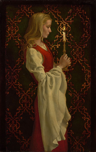 James C. Christensen - Virtue -  LIMITED EDITION CANVAS Published by the Greenwich Workshop