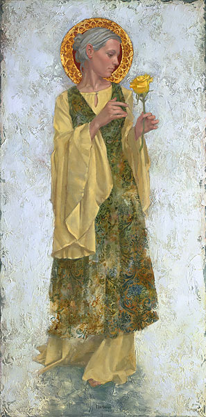 James C. Christensen - The Yellow Rose -  LIMITED EDITION CANVAS Published by the Greenwich Workshop