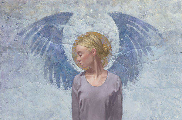 James C. Christensen - Angel Unaware -  LIMITED EDITION GICLEE PRINT Published by the Greenwich Workshop