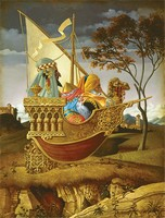 Three Wise Men in a Boat&lt;br&gt; LIMITED EDITION CANVAS