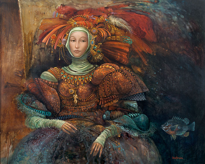 James C. Christensen - La Duquesa -  LIMITED EDITION CANVAS Published by the Greenwich Workshop