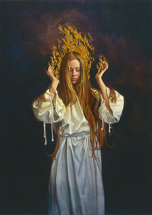 James C. Christensen - Epiphany -  LIMITED EDITION CANVAS Published by the Greenwich Workshop