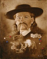 Wild Bill Hickok: The Premonition&lt;br&gt; LIMITED EDITION CANVAS