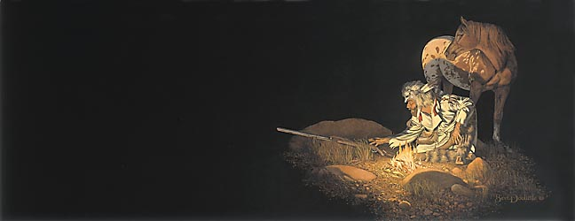 Bev Doolittle - UNKNOWN PRESENCE -  LIMITED EDITION PRINT Published by the Greenwich Workshop