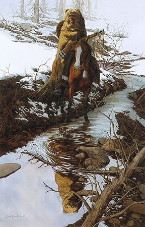 Bev Doolittle - SPIRIT OF THE GRIZZLY -  LIMITED EDITION PRINT Published by the Greenwich Workshop