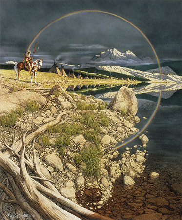 Bev Doolittle - THE SENTINEL -  LIMITED EDITION PRINT Published by the Greenwich Workshop
