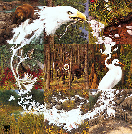 Bev Doolittle - THE SACRED CIRCLE P.C & VIDEO -  LIMITED EDITION PRINT Published by the Greenwich Workshop