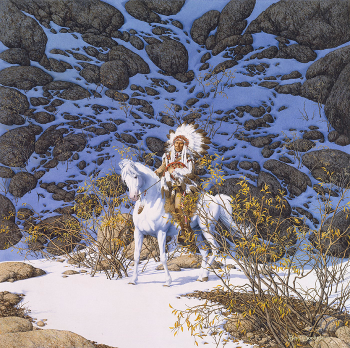 Bev Doolittle - EAGLE HEART - LIMITED EDITION PRINT Published by the Greenwich Workshop