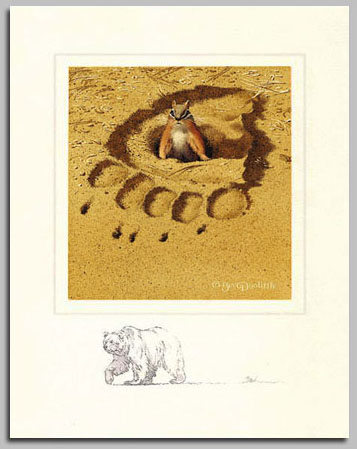 Bev Doolittle - NO RESPECT W/ THE FOREST HAS EYES -  LIMITED EDITION PRINT Published by the Greenwich Workshop