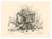 Mining Marigolds&lt;br&gt; ORIGINAL LITHOGRAPH