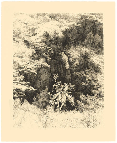 Bev Doolittle - Powers of One -  ORIGINAL LITHOGRAPH Published by the Greenwich Workshop