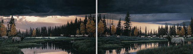 Rod Frederick - BEFORE THE STORM (DIPTYCH) -  LIMITED EDITION PRINT Published by the Greenwich Workshop