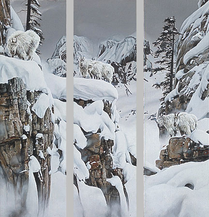 Rod Frederick - WORLD OF WHITE -  LIMITED EDITION PRINT Published by the Greenwich Workshop