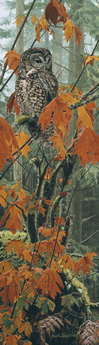 Rod Frederick - AUTUMN LEAVES -  LIMITED EDITION PRINT Published by the Greenwich Workshop