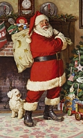 SANTA CLAUS&lt;br&gt; LIMITED EDITION PRINT