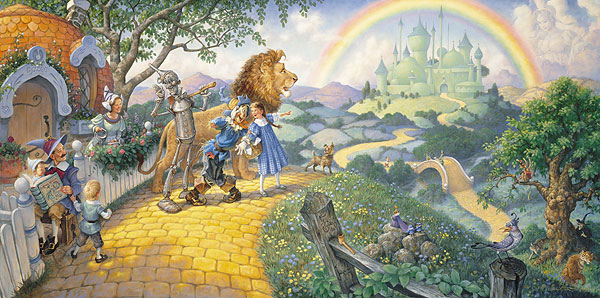 Scott Gustafson - THE WIZARD OF OZ -  LIMITED EDITION PRINT Published by the Greenwich Workshop