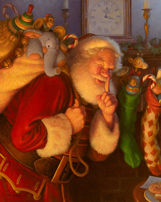 """St. Nick"" by Scott Gustafson"