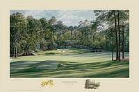 "THE 12TH HOLE ""GOLDEN BELL"" AUGUSTA NATIONAL GOL<br> L.E. PRINT"