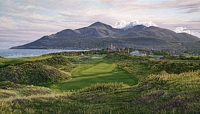 THE 9TH HOLE ROYAL COUNTY DOWN COUNTRY CL<br> MW CANVAS EDITION