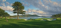 18th Hole, Pebble Beach Golf Links<br> MUSEUMEDITION CANVAS
