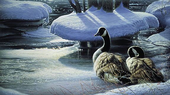 Jay Johnson - WINTER THAW -  LIMITED EDITION PRINT Published by the Greenwich Workshop