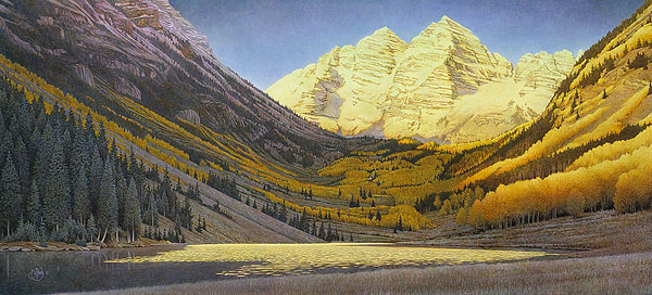 Scott Kennedy - ROCKY MOUNTAIN GOLD -  LIMITED EDITION PRINT Published by the Greenwich Workshop