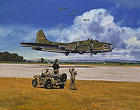 MEMPHIS BELLE AND DAUNTLESS DOTTY &#40;CO&lt;br&gt; LIMITED EDITION PRINT
