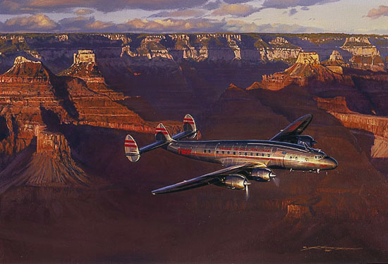 Craig Kodera - CANYON STARLINER -  LIMITED EDITION PRINT Published by the Greenwich Workshop