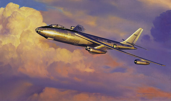 Craig Kodera - STRATOJET SHAKEDOWN<br> LIMITED EDITION PRINT -  Published by the Greenwich Workshop