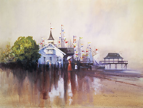 Paul Landry - REGATTA -  LIMITED EDITION PRINT Published by the Greenwich Workshop