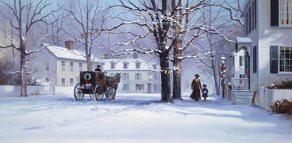 Paul Landry - CHRISTMAS TREASURES -  LIMITED EDITION PRINT Published by the Greenwich Workshop