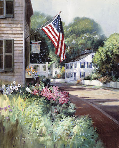Paul Landry - NANTUCKET COLORS -  LIMITED EDITION PRINT Published by the Greenwich Workshop