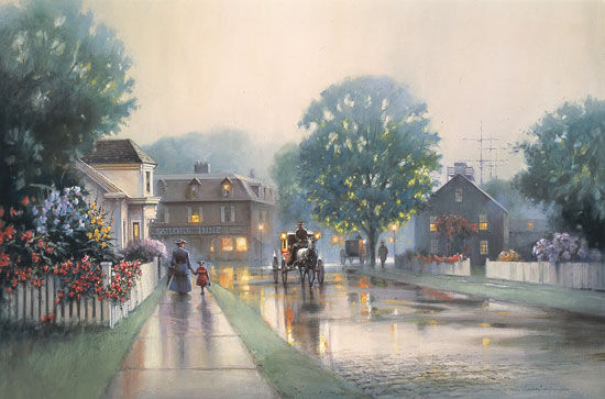 Paul Landry - SUMMER MIST -  LIMITED EDITION PRINT Published by the Greenwich Workshop
