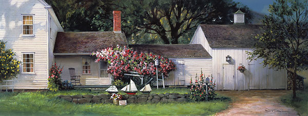 Paul Landry - NEW ENGLAND CLASSIC -  LIMITED EDITION PRINT Published by the Greenwich Workshop
