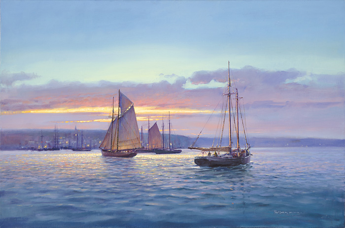 Paul Landry - EVENTIDE -  LIMITED EDITION CANVAS Published by the Greenwich Workshop