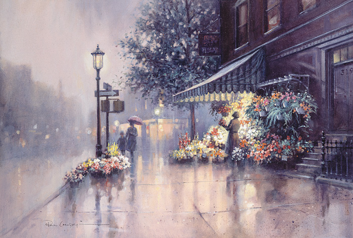 Paul Landry - EVENING RADIANCE -  LIMITED EDITION CANVAS Published by the Greenwich Workshop