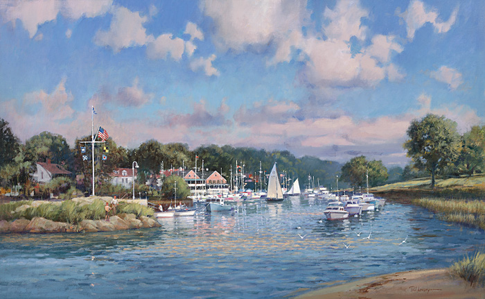 Paul Landry - FAIRWINDS -  LIMITED EDITION PRINT Published by the Greenwich Workshop