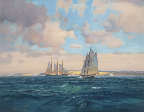 Paul Landry - Sailing Home -  LIMITED EDITION CANVAS Published by the Greenwich Workshop