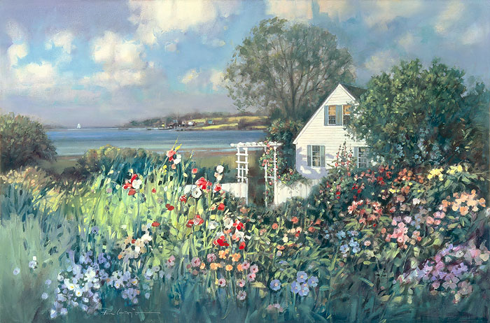 """Cottage by the Sea"" by Paul Landry"